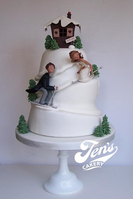 Ski Slope Wedding Cake Flickr Photo Sharing