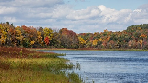 Lake Somerset in Autumn by andiwolfe