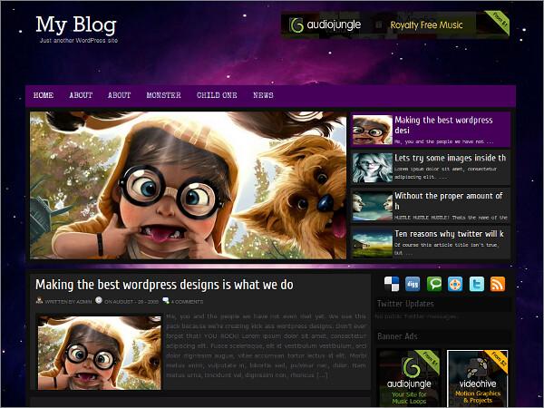 Gleam Free WordPress Theme