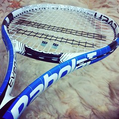 strings, sports equipment, rackets, blue,