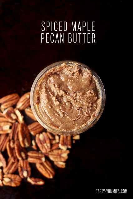 How-to Make Spiced Maple Pecan Butter
