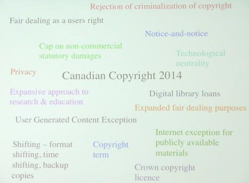 canada copyright law 2014