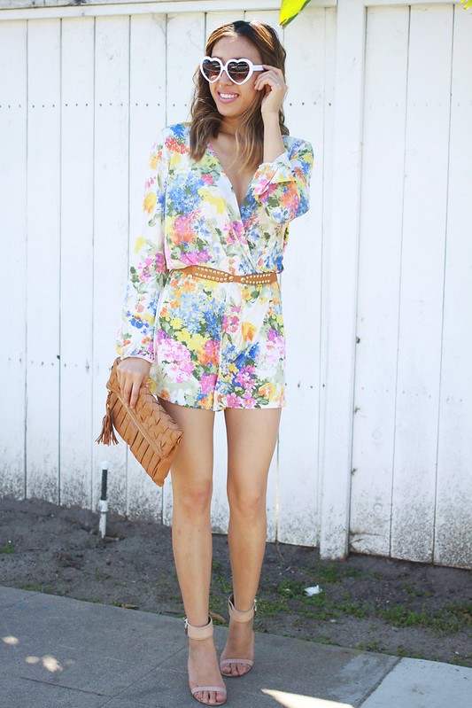 lucky magazine contributor,fashion blogger,lovefashionlivelife,joann doan,style blogger,stylist,what i wore,my style,fashion diaries,outfit,brooklyn harper,floral romper,spring trends,zerouv,fashion climaxx,oc blogger
