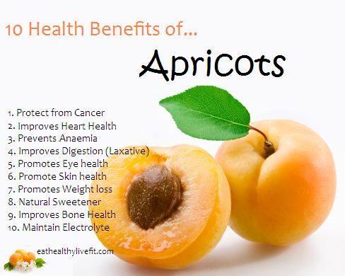 6. Apricots
