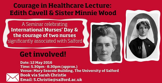 Courageous Nurses Celebrated at Salford University Seminar