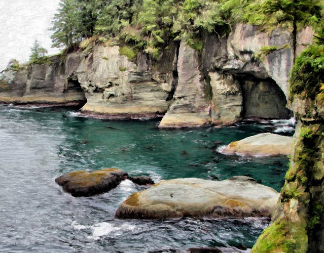 Cape Flattery04 - Painting