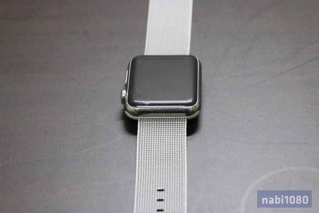 Apple Watch ウーブンナイロンバンド20