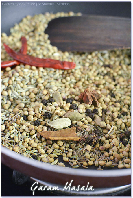 Homemade Garam Masala Powder Recipe