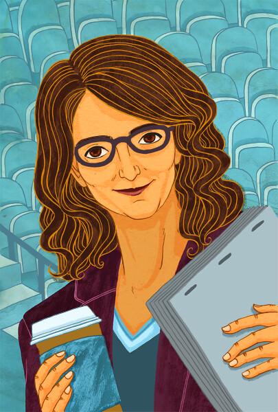 Tina Fey Portrait