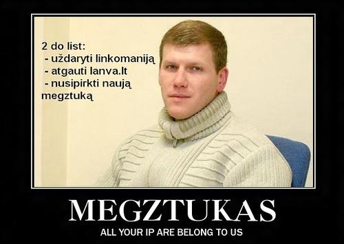Megztukas: 12 mėnesių kalėjimo už piratavimą!