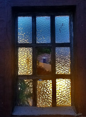 Window to the evening