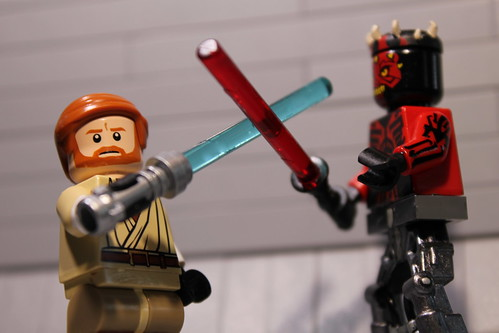 Obi-Wan vs. Darth Maul