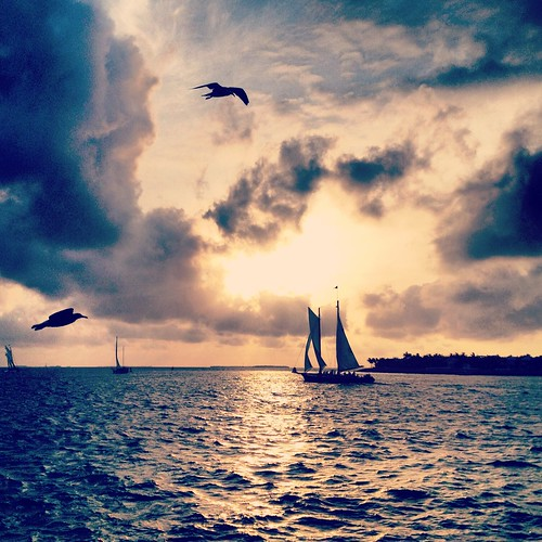 Instagram Key West Sunset