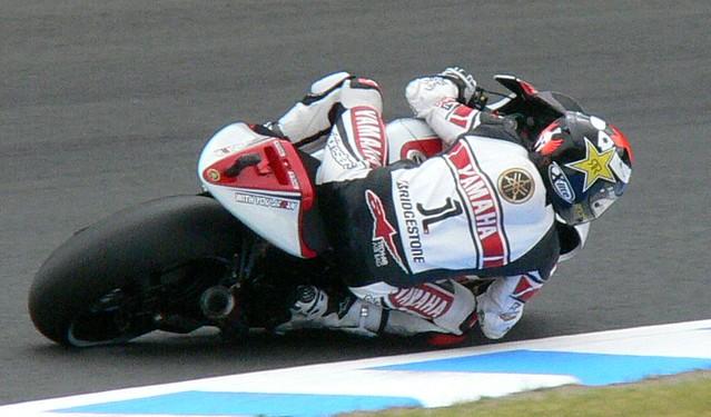 "2011 YAMAHA YZR-M1 (OWT1) #1 Jorge Lorenzo ""WGP 50th Anniversary Edition"""