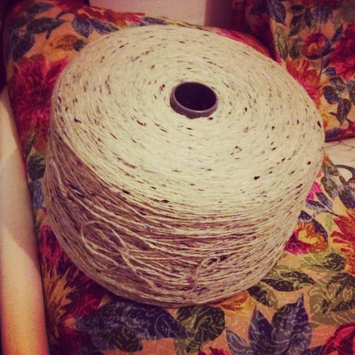 Supermegagigaobesa Rocca di meravigliosa yarn dono di una amica speciale