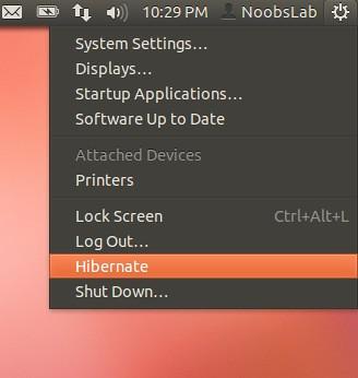 ubuntu hibernate