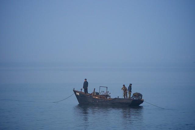 Wonsan Boat North Korea