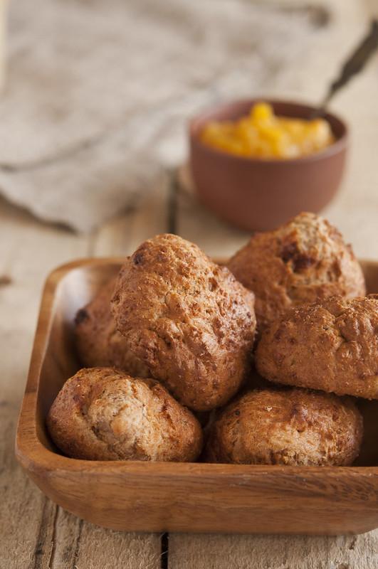 Lemon cookies fried