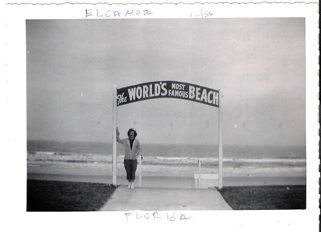 Datona Beach, 1950