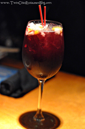 Red Sangria at Big Bowl ~ Roseville, MN