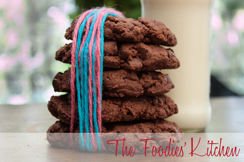 Triple Threat Chocolate Cookies