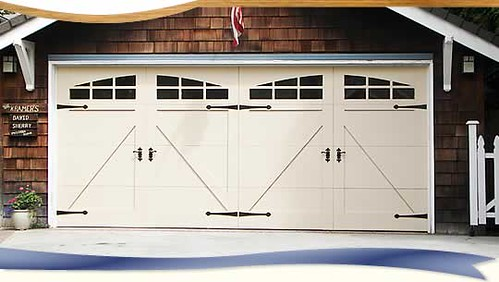 Garage doors for repair