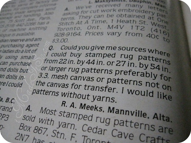 hands magazine question and answer for crafters