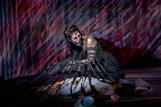 Amanda Echalaz as Ker in The Minotaur © Bill Cooper/ROH 2008