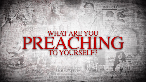 What Are You Preaching To Yourself - Poster