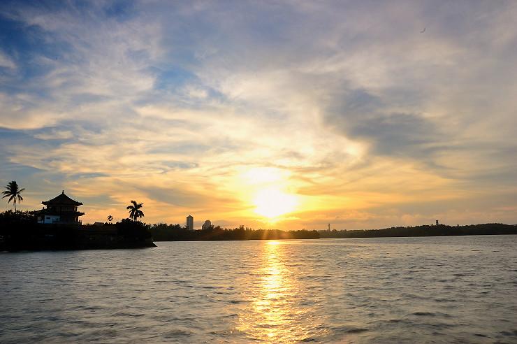 港都日落、夜景