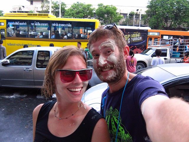 Getting into Songkran (Bangkok)