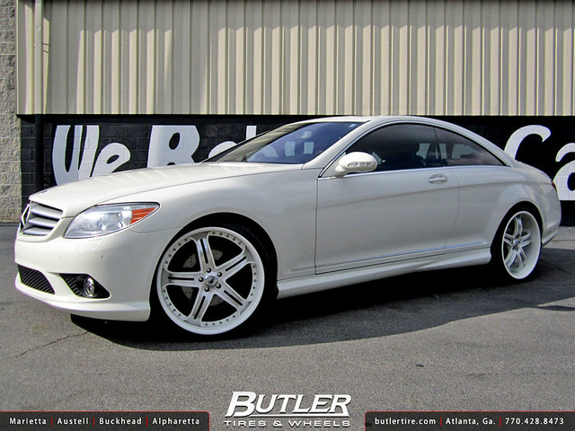 Butler tire shows off my favorite mercedes model doing for Mercedes benz custom parts