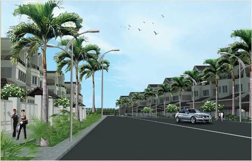 Bán đất nền dự án biệt thự Q10, Tp. HCM, 70tr/ m2