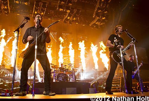 Nickelback - 04-12-12 - Van Andel Arena, Grand Rapids, MI