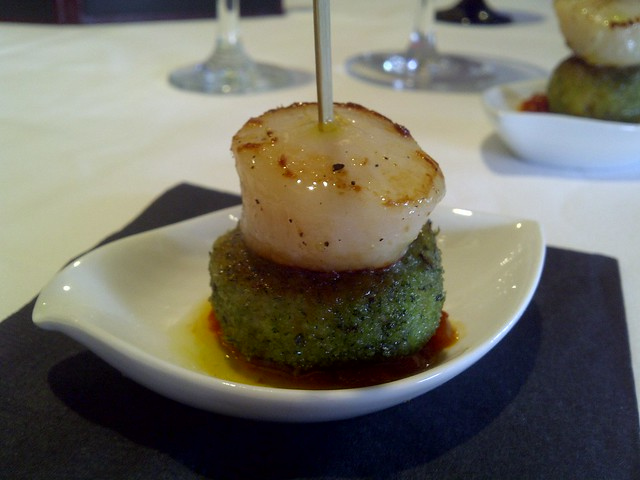Crab Cake & Scallop 3