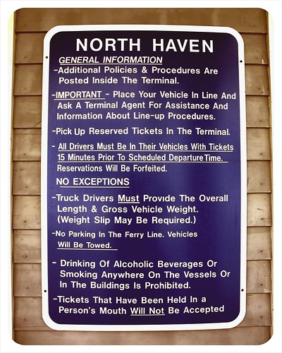 ferry procedures