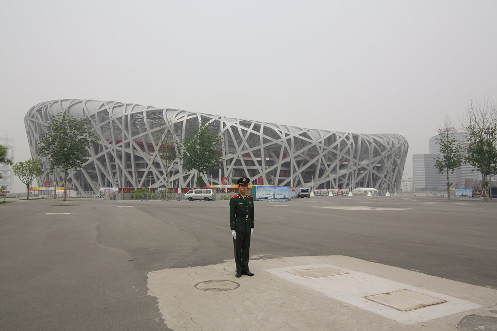 Beijing National Stadium(Bird Nest) 北京国家体育場(鳥の巣)