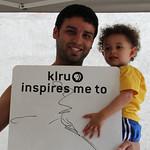 KLRU inspires me to...