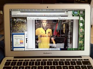 Screenshot: Neues Borussia Dortmund (BVB) Trikot von Puma?