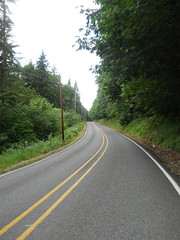 A small climb along Ten Eyck Road