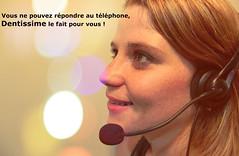 accueil téléphonique pour professionnels du dentaire