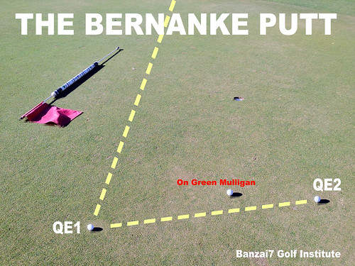 THE BERNANKE PUTT by Colonel Flick