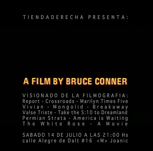 BRUCE CONNER