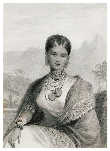001-La reina de Candy-The oriental annual, or scenes in India..1834- William Daniell-© Universitätsbibliothek Heidelberg