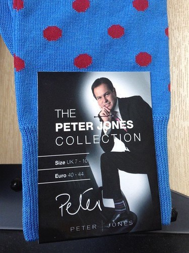 Peter Jones Polka Dot Socks