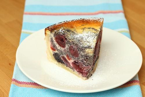 Kirsch-Mohn-Quarkkuchen