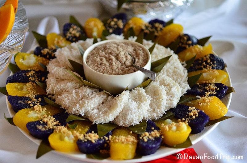 Sooo Pinoy Food Trip na Pilipinas in Davao City - assorted kakanin - Probinsya Buffet Restaurant