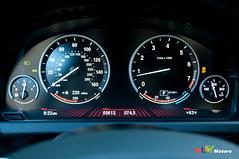 2012 BMW 650i instrument cluster