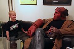 Hellboy, Make-A-Wish