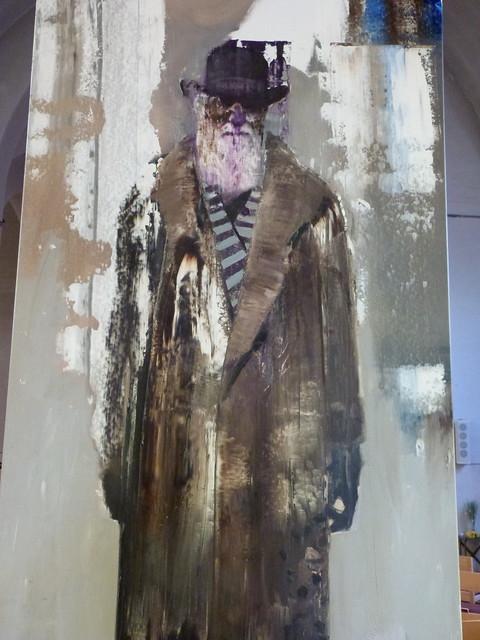 BEAU04 - Selfportrait as Charles Darwin II (2012) by Adrian Ghenie
